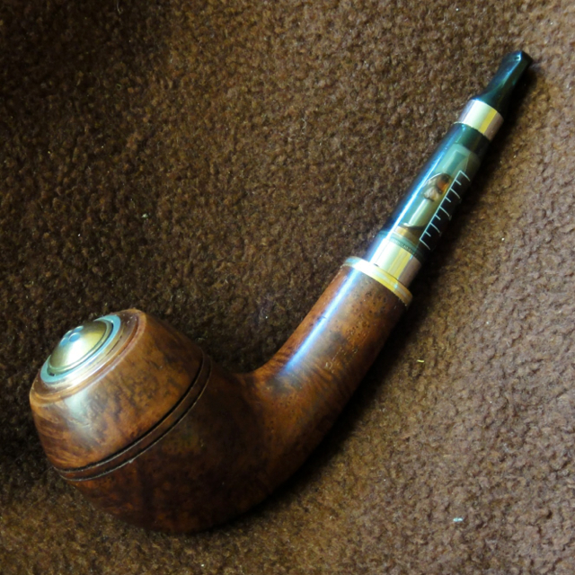 Peterson Kinsale XL14 Smooth Briar Electronic Pipe epipe