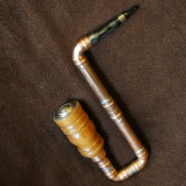 Steampunk smoking pipes