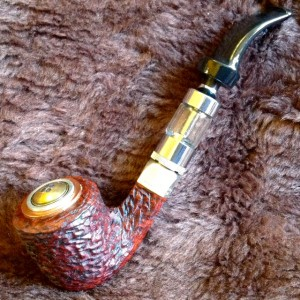 Peterson Stirling Silver Electronic Pipe