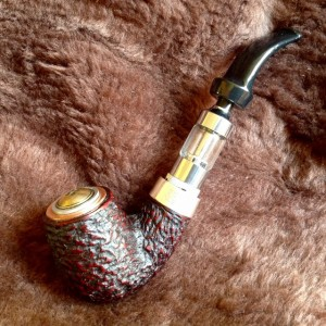 Petersons XL90 Stirling Silver Electronic Pipe