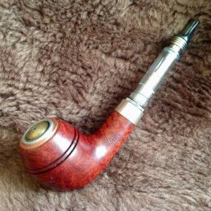 Peterson Sherlock Holmes Deerstalker Electronic Pipe